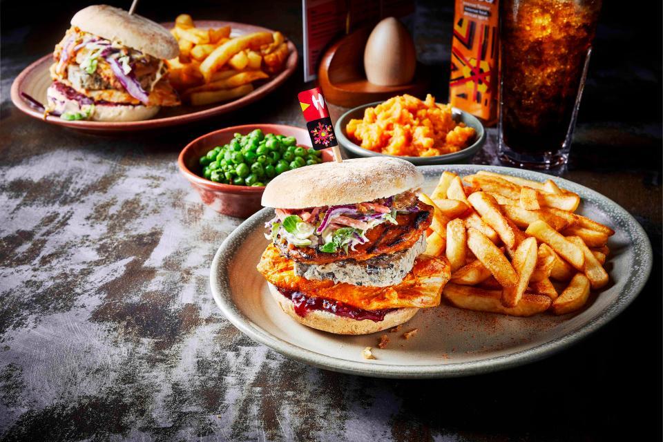 Nando's burger