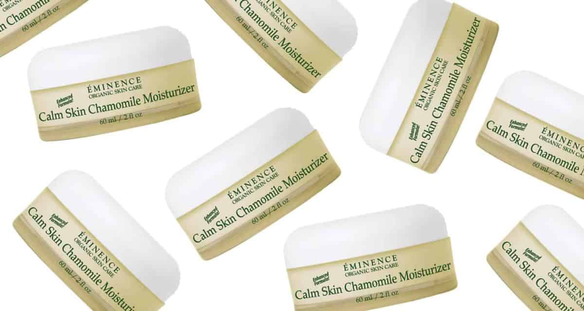 This organic chamomile moisturiser is the best for beating redness