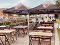 Electric is back open on the boardwalk (and the weather is ideal for a sneaky pint)
