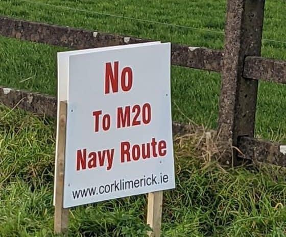 Cork-Limerick motorway
